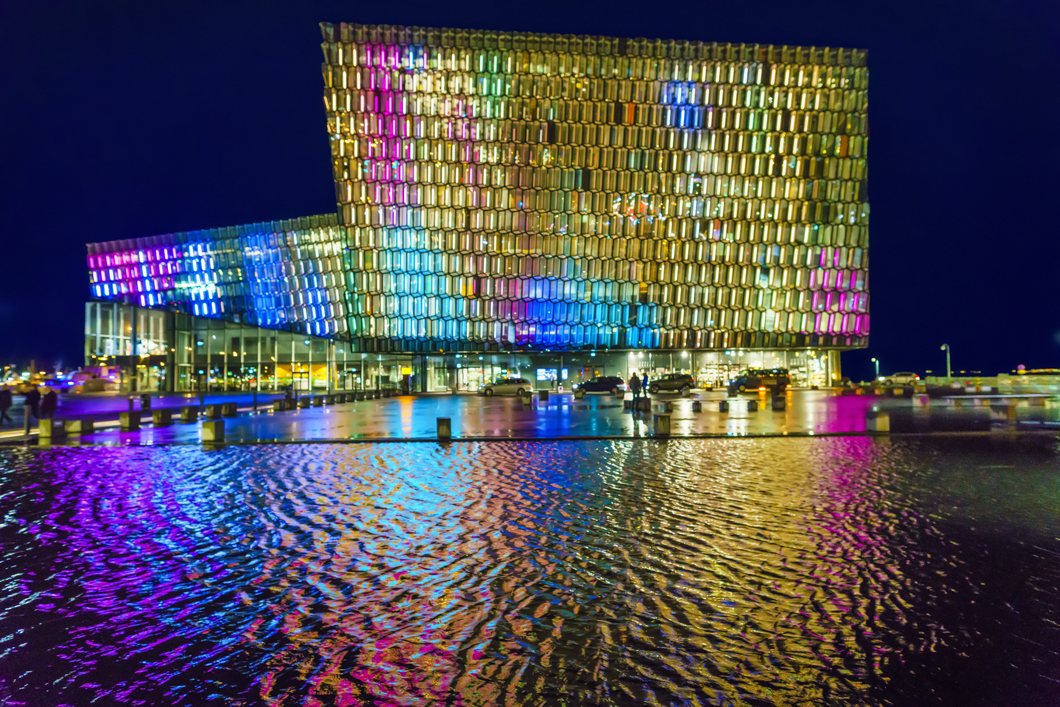 Harpa Winterlights