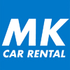 M.K. Car Rental logo