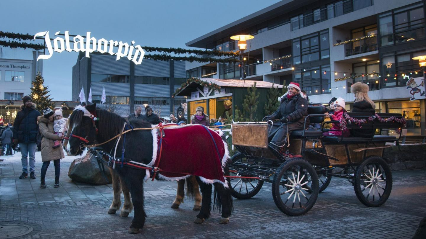 Don't leave out the Christmas Village in Hafnarfjorður when visiting Iceland in December!
